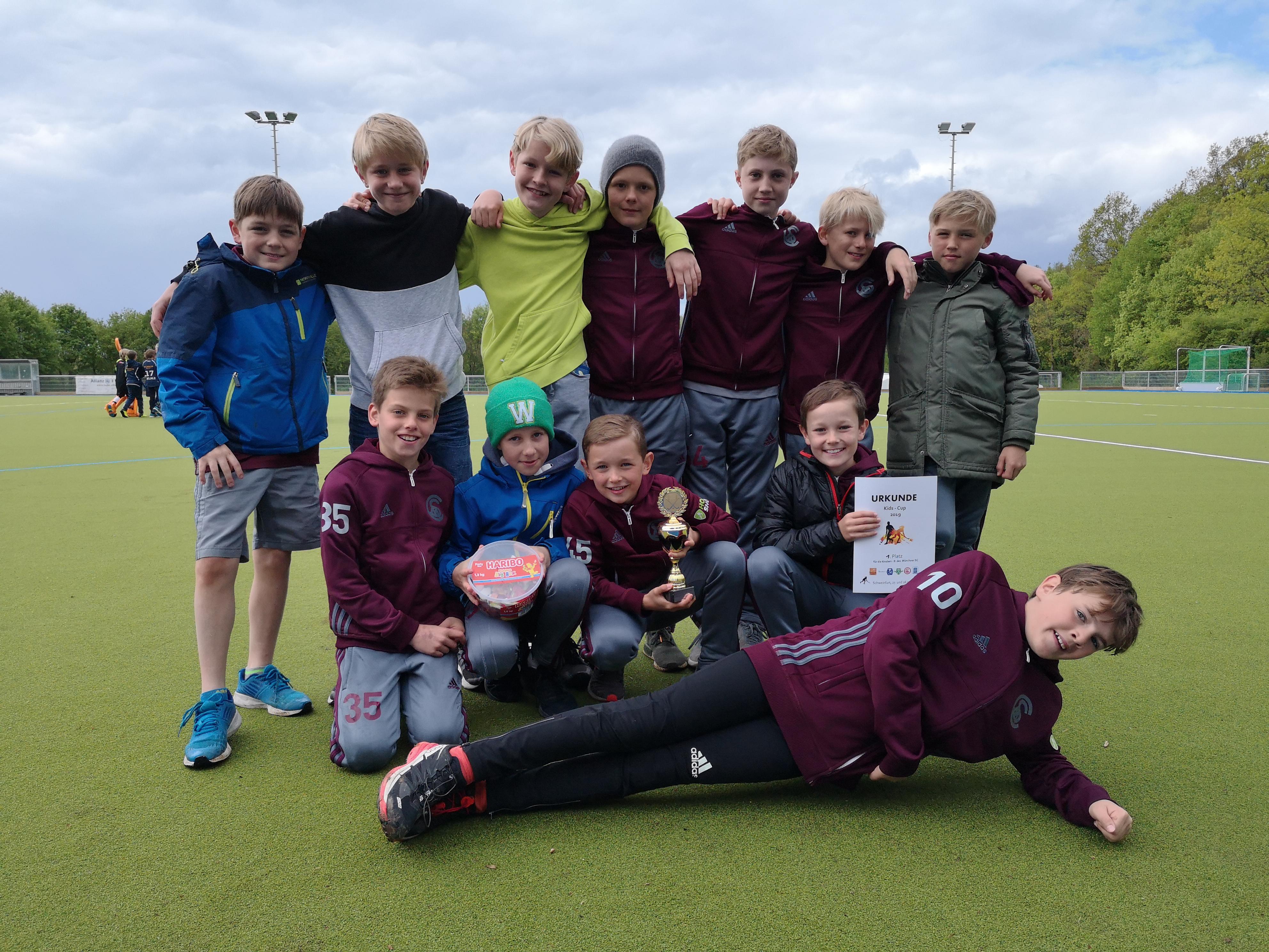 Kids-Cups trotz Sturm und Regen ein voller Erfolg